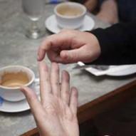Deaf and blind signing