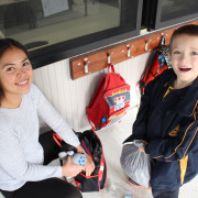 Vanessa collects Bejay after school and then it is off for an afternoon of fun!