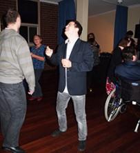 Joshua dancing