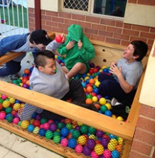 Coloured Ball Pit