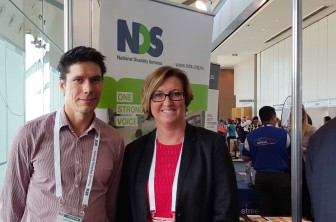 Craig Sinclair and Lee-Anne Brensell presented at the NDS conference.