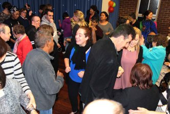 Identitywa community enjoying the Disco Night