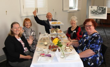Carers enjoying the Identitywa High Tea