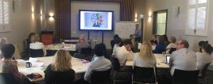 Staff attend the Digital Technology workshop