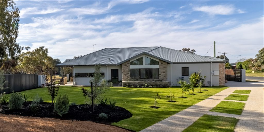 A completed Kellett Group Design home